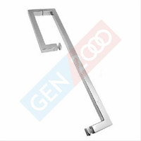 Shower Handle Kotak Pintu Shower Towel Bar Kotak 15x45Cm PSS Kilap