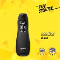 Logitech Laser Pointer Wireless Presenter R400