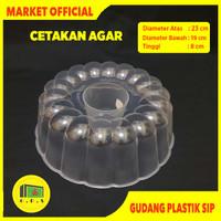 Loyang Cetakan Plastik Puding Agar Agar Green Leaf 0953