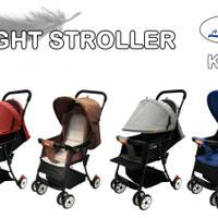 Stroller Labeille Light KK7 Stroler Bayi Murah Kereta Dorongan Bayi