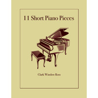 Buku Piano 11 Short Classical Pieces