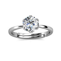 Le Estelle Ring - Cincin Moissanite diamond Celesta by Her Jewellery