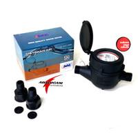 AMNB Meteran Air Body Plastik PVC 1/2 Inch SNI