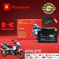 Aki Motor Kawasaki Athlete Accu MF GTZ5S Accu Kering Aki MF FITZ5S