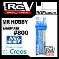 MR HOBBY PRE CUT SANDPAPER SANDING PAPER 800 AIRBRUSH MODEL KIT