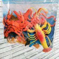 Set 8 Hewan Laut Marine Life World 666-12 - Mainan Figure Miniatur
