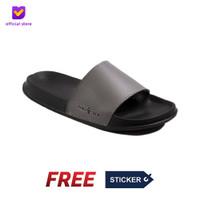 Sandal Pria Slide Footstep Footwear - Porto Grey