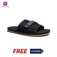 Sendal Pria Rumah Slip On Footstep Footwear - Flexy Black