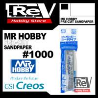 MR HOBBY PRE CUT SANDPAPER SANDING PAPER 1000 AIRBRUSH MODEL KIT