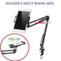 Holder Tablet Boom Arm Table Flatlay Stand AE09