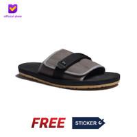 Sendal Pria Rumah Slip On Footstep Footwear - Flexy Grey