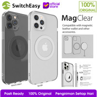 Switcheasy MagClear Magsafe Case iPhone 12 Pro Max 12 mini 12 Casing