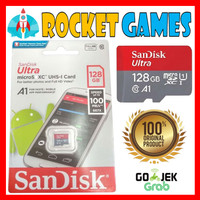 SANDISK MICROSD 128 GB 100MBPS / Memory Card Nintendo Switch