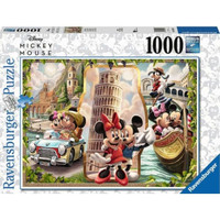 [READY] RAVENSBURGER PUZZLE - MICKEY MOUSE VACATION 1000 PCS