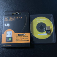 UW06BT Usb wifi dongle Bluetooth Dual Band Wireless 2.4G 5G