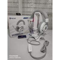 Headset Gaming Rexus thundervox stream HX20 putih RGB usb 7.1 free mic