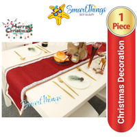 TABLE RUNNER CHRISTMAS DINNER MAT / TAPLAK MEJA MALAM NATAL #01