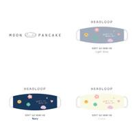 Moon Pancake Headloop Mask Cuci Kering Pakai