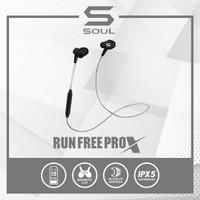 Soul Run Free Pro X Sport Bluetooth Wireless Earphone Tahan air