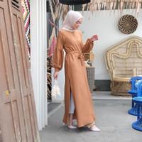 [REAL PICTURE] CLEMENTY DRESS SHAKILA IMPORT TANAH ABANG PGMTA METRO