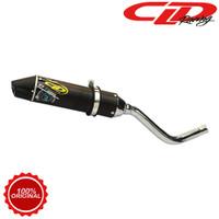 Knalpot Racing Motor CLD Racing Kawasaki KLX 150 C1 Bulat Series