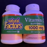 Natural Factors Vitamin C 1000 mg isi 60 Twin Pack