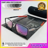 Kacamata Pria Minus Photocromic Spindel