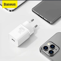 Baseus kepala charger adaptor tipe C Quick charger 20 w iphone 11/12