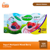 Greenfields Yogurt Mix Berry 125 gr - Isi 2 Pcs