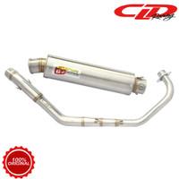 Knalpot Racing Motor CLD Racing Honda CBR 150 Type C2 Bulat Series