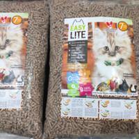 Pasir Serbuk kayu Easy Lite 7 kg. Untuk kucing, kelinci, hamster, dll.
