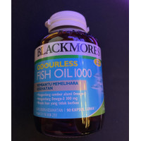 Blackmores Odourless Fish Oil 1000 isi 90