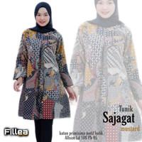 fillea Sajagat new atasan batik wanita baju kerja wanita modis murah