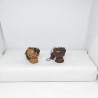 Hello Kitty Mini Figure Set Key Chain: Choco and Coffee