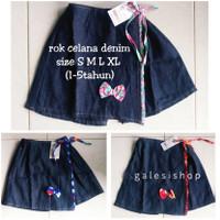 Rok Celana Anak Denim GROSIR Size S M L XL