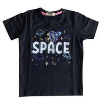 Kaos anak laki-laki motif Rocket SPACE- MOEJOE
