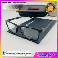 kacamata minus pria photocromic kotak Porsche Design 0327