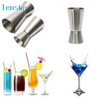 Gelas Ukur Bartender Cocktail Double Shot 15 30ml LE2 -DA27