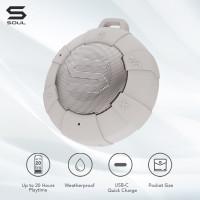 SOUL S-STORM Weatherproof Wireless Speaker - Beige