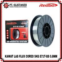 Kawat Flux Core Redbo Kawat Las E71T-GS 0.8mm 5Kg