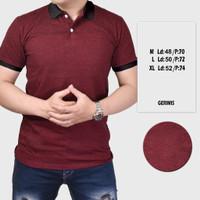Polo Shirt Pria Lengan Pendek Pria Polos Kerah | Kaos