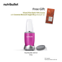 Nutribullet 500W 5pc - Pink