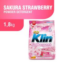Soklin Softergent Sakura Strawberry 1.8 Kg