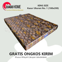 Kasur Royal Foam Rebounded Vario Orthopedic Queen Size 160 x 200