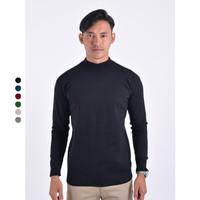 Sweater Rajut Pria Gomuda Mock Turtleneck