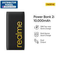 Realme Powerbank Power Bank 2i 10000mAh Quick Charge Dual Output