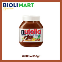 NUTELLA 350gr Hazelnut Spread with Cocoa - Bioli Mart