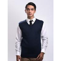 Sweater Rajut Pria Gomuda - Vest/Rompi Navy