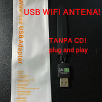 UW10SD Usb wifi plug and play dongle adapter With antena