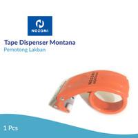 Tape Dispenser Nozomi Montana Orange /Pemotong Lakban